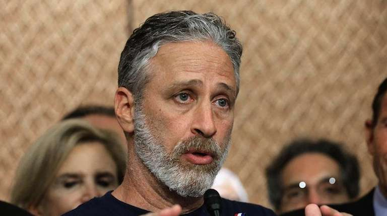 Jon Stewart -- speaking in support of the