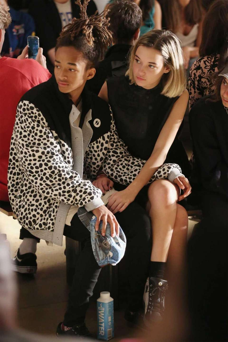 Jaden Smith and Sarah Snyder attend the Gypsy