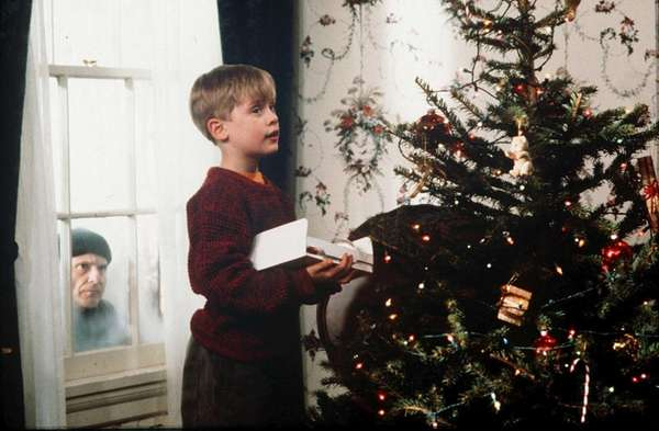 Macaulay Culkin as Kevin McAllister in the 1990