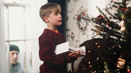 Macaulay Culkin as Kevin McAllister in the 1990