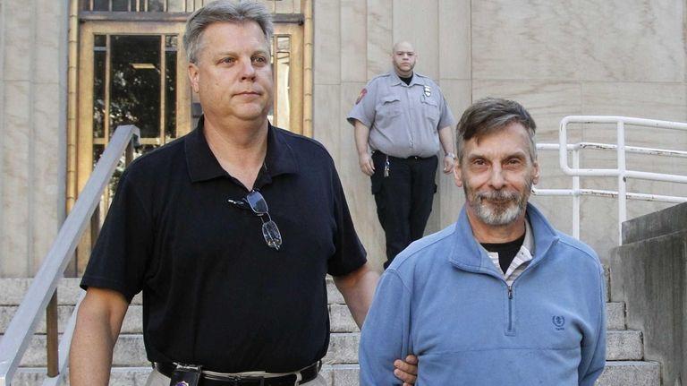 William Rini, 59, of Manhasset,surrendered to Nassau authorities