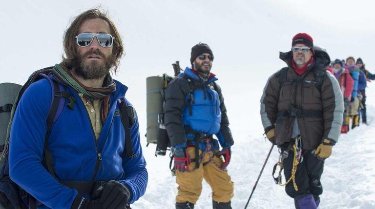 From left, Jake Gyllenhaal as Scott Fischer, Michael