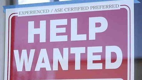 The Long Island economy had 20,500 more jobs
