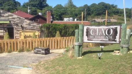 Ciao By The Beach, a Montauk restaurant, is