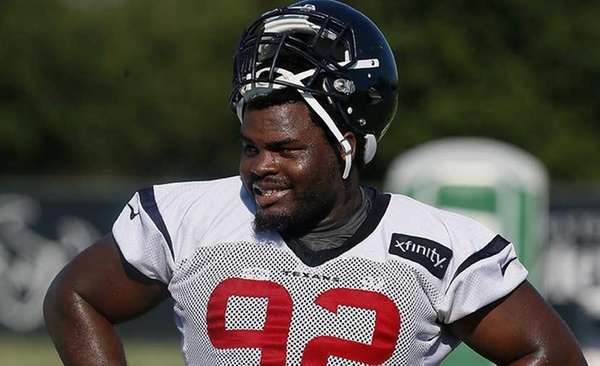Defensive tackle Louis Nix during the Houston Texans'