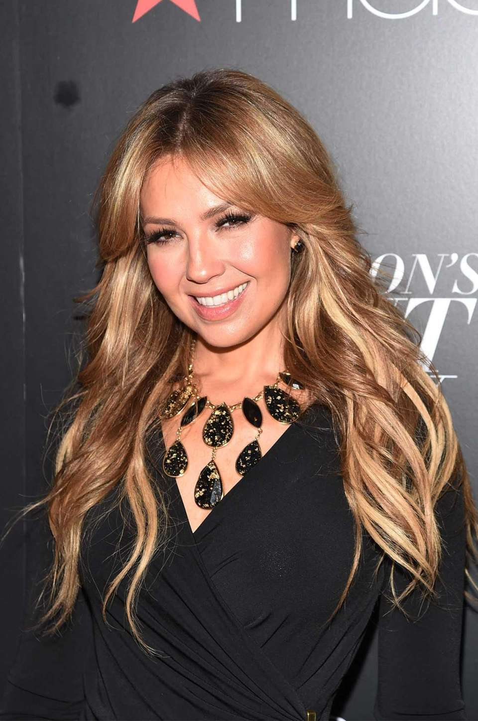 Thalia appears at Macy's Presents Fashion's Front Row