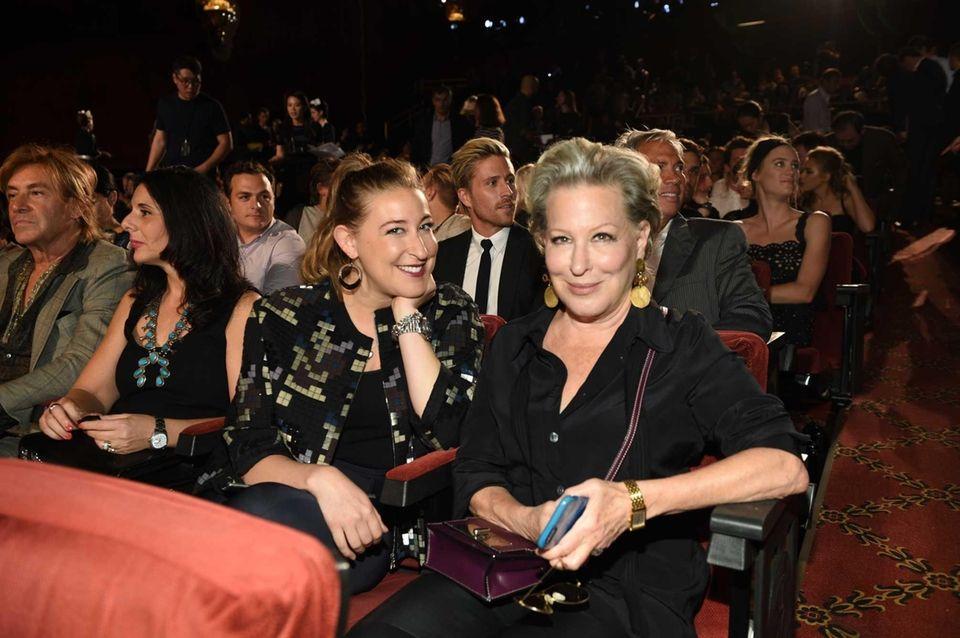 Bette Midler, right, and her daughter, Sophie von