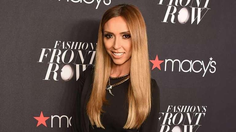 Giuliana Rancic appears at Macy's Presents Fashion's Front