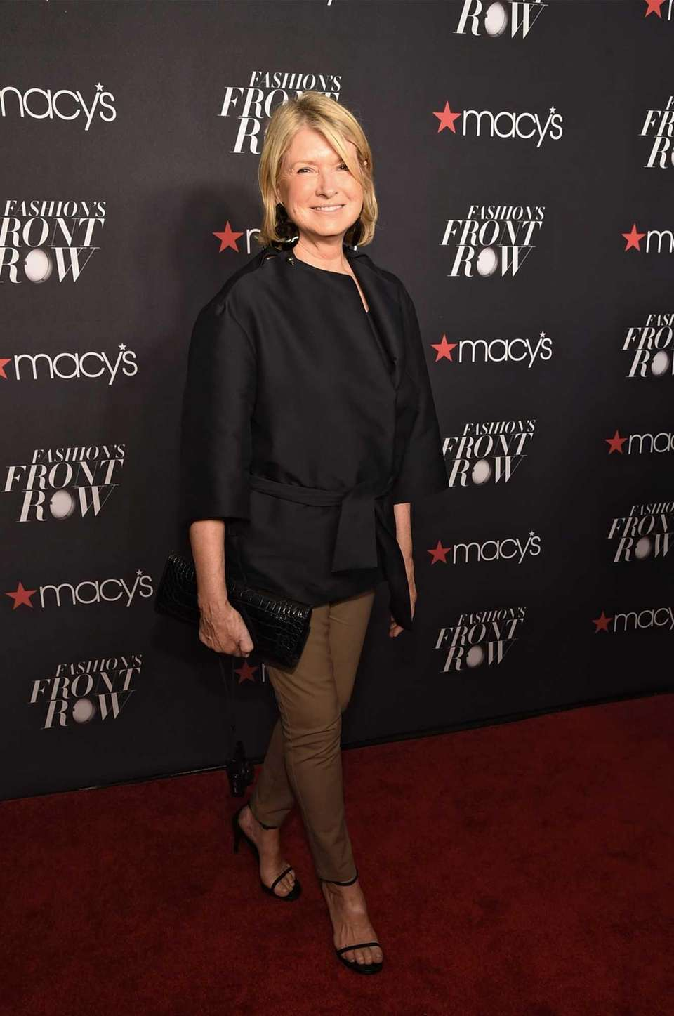 Martha Stewart appears at Macy's Presents Fashion's Front