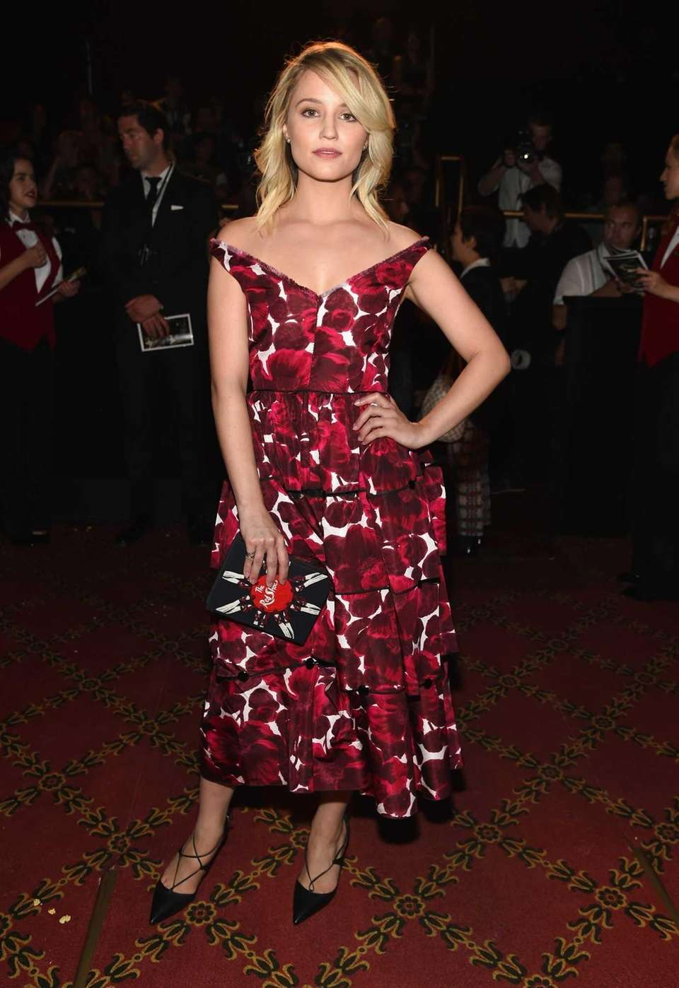 Dianna Agron attends the Marc Jacobs Spring 2016