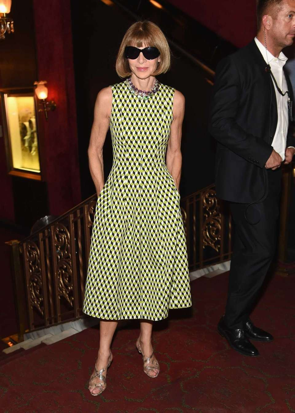 Anna Wintour attends the Marc Jacobs Spring 2016