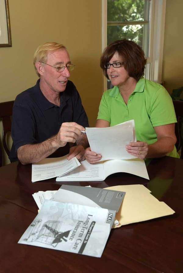 Logan and Kim Phillips discuss their long-term-care health