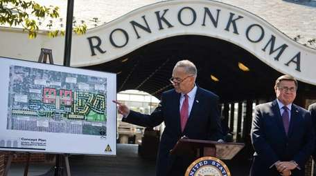 Sen. Chuck Schumer announces a major effort to