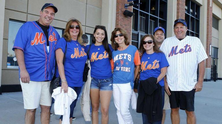 The family of Steven Matz of the New