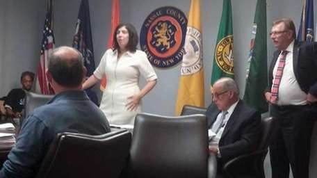 This photo of Acting Nassau District Attorney Madeline