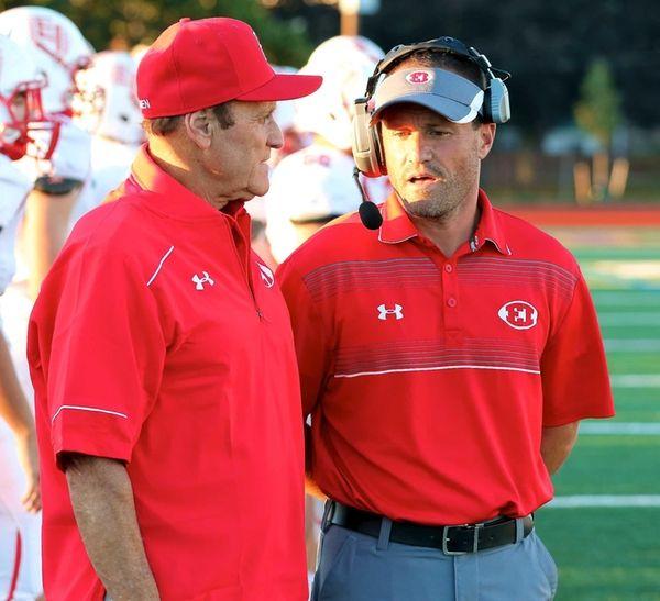East Islip coach Sal J. Ciampi and his