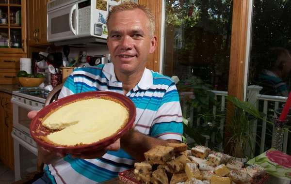 Dave Ryan of Smithtown likes making key lime