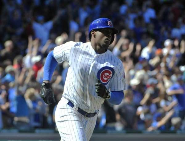 Chicago Cubs' Jorge Soler (68) runs the bases