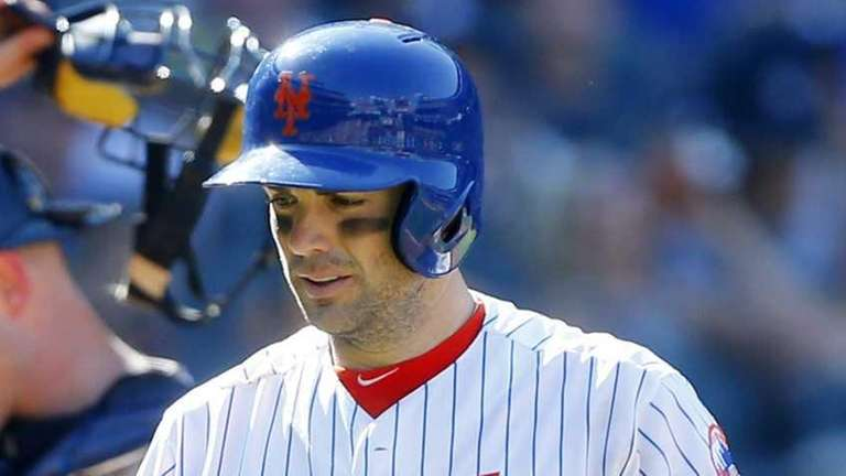 David Wright of the New York Mets strikes