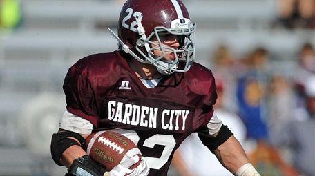 Garden City running back No. 22 Brian Haeffner