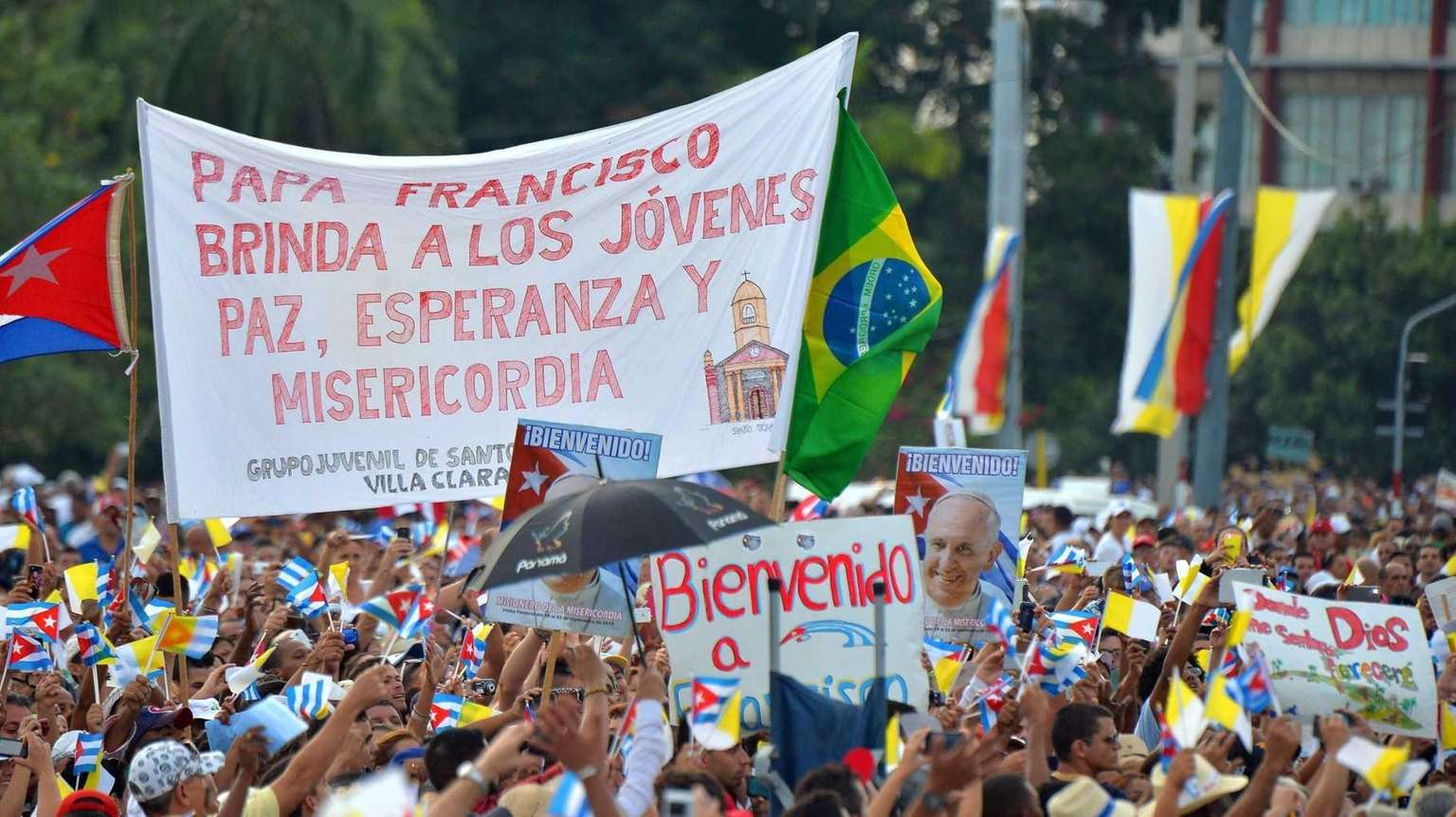 Pope's sojourn in a Communist country