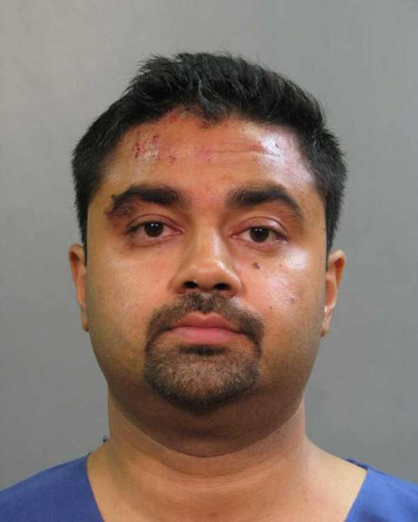 Raj Jadeja, 34, of Brooklyn is shown in