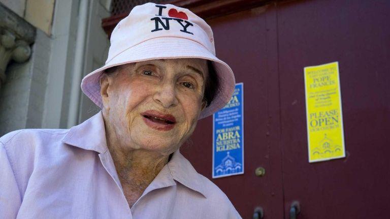 Joyce Matz, an East Side Manhattan landmark preservationist