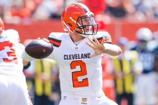 Quarterback Johnny Manziel #2 of the Cleveland Browns