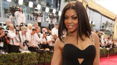 Taraji P. Henson arrives at the 67th Primetime
