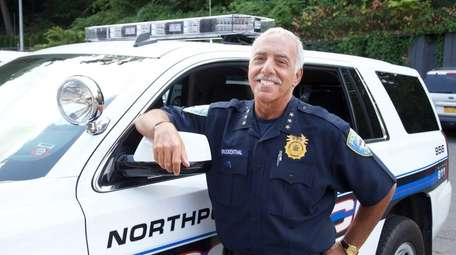 Outgoing Northport Police Chief, Eric