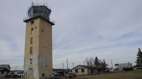 Gabreski Airport in Westhampton Beach on Dec. 12,