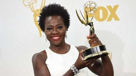 Viola Davis won the Emmy for outstanding lead