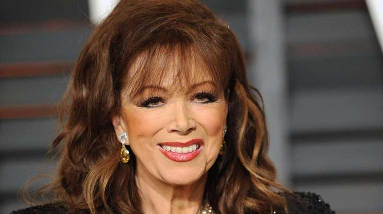 Jackie Collins, seen on Feb. 22, 2015, was
