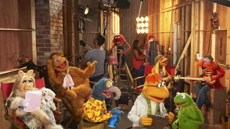 In this image released by ABC, muppet characters