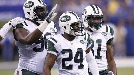 Darrelle Revis #24 of the New York Jets