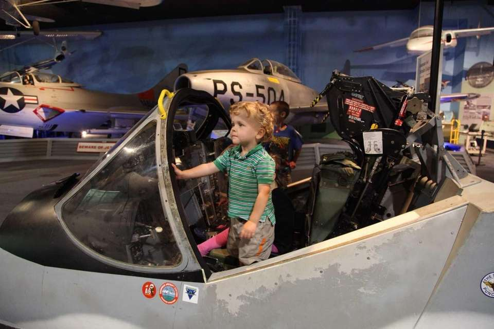 The Cradle of Aviation Museum explores aviation history