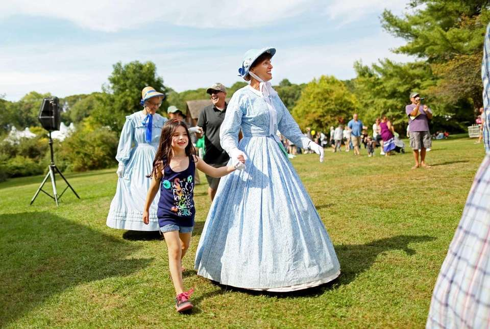 Old Bethpage Village Restoration is a re-creation of