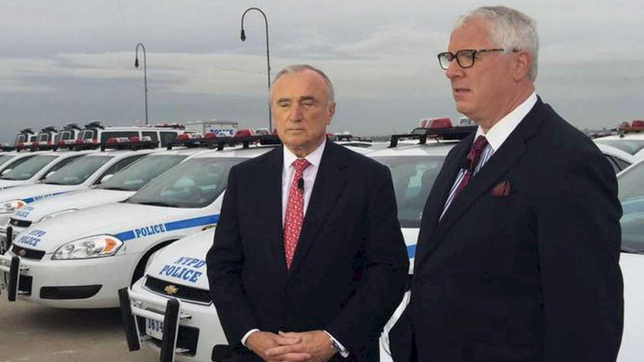 New York City Police Dept. Commissioner William Bratton,