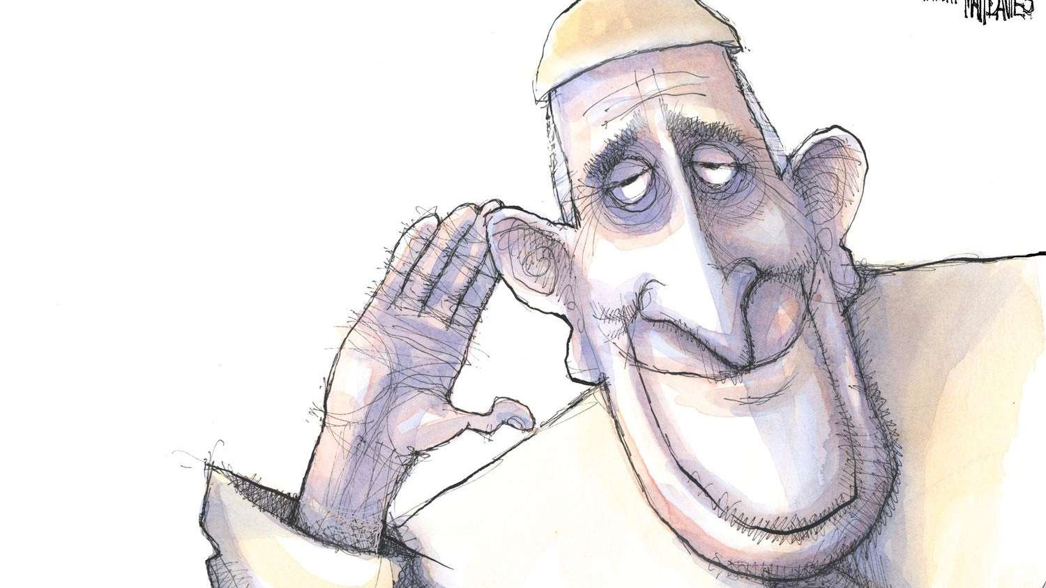 See readers' notes to the pope