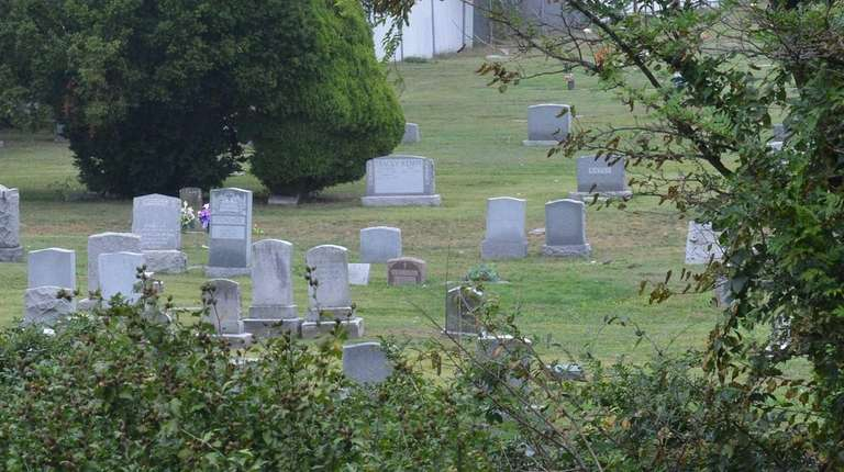 Rockville Cemetery, pictured on Oct. 4, 2012, could