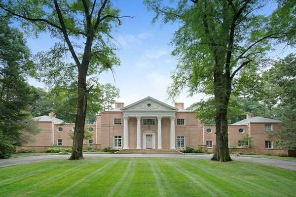This sprawling 13,000 square-foot mansion on 6.4 acres
