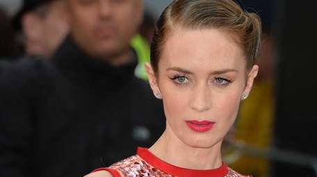 Emily Blunt attends the UK Premiere of