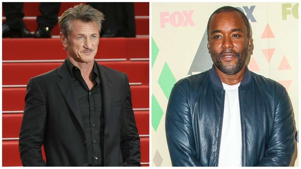 Sean Penn, left, has filed a $10 million