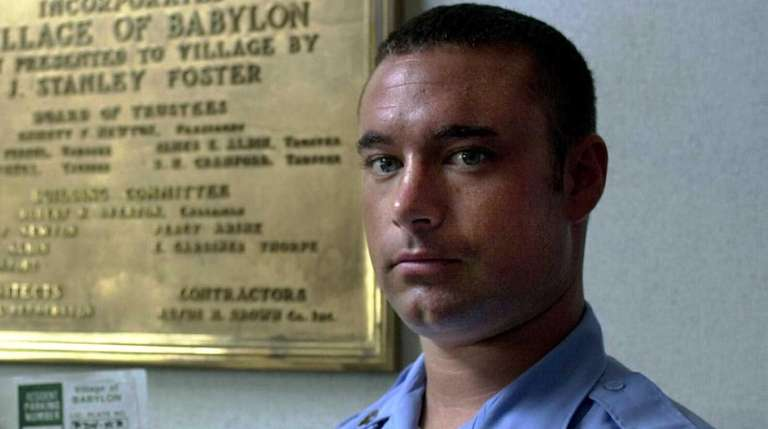 Former Oyster Bay Constable Christopher Briggs at Babylon
