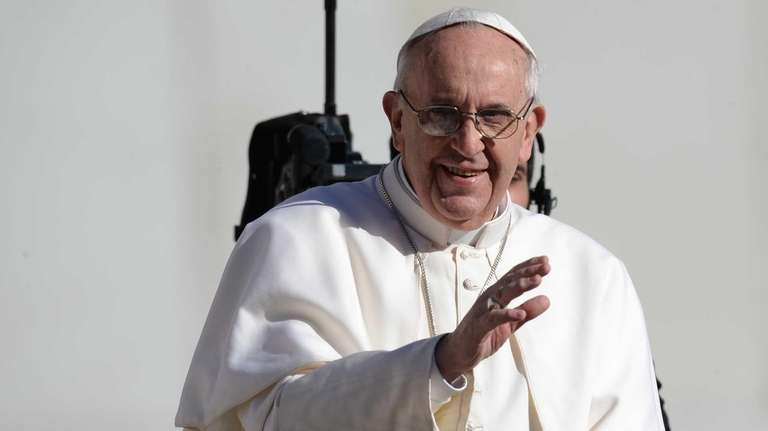 Pope Francis is seen on March 19, 2013.