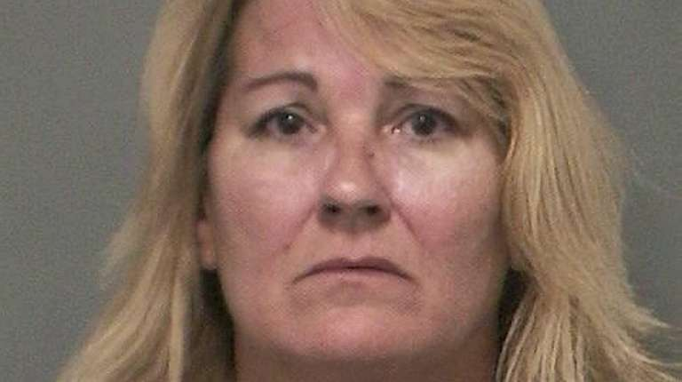 Maureen Adamo, 52, of North Massapequa, was arrested