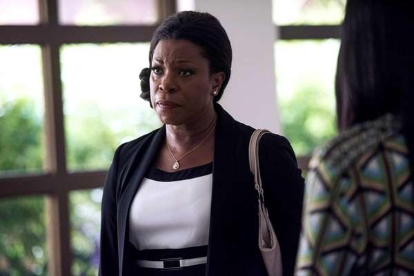 Lorraine Toussaint as Donna Rosewood in the series