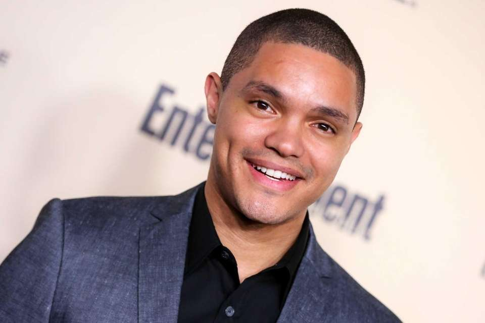 South African comedian Trevor Noah took over for