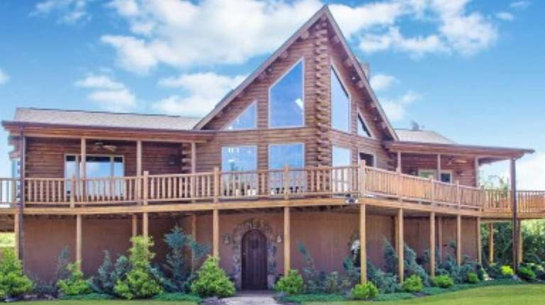 A log home in Riverhead that contains multiple