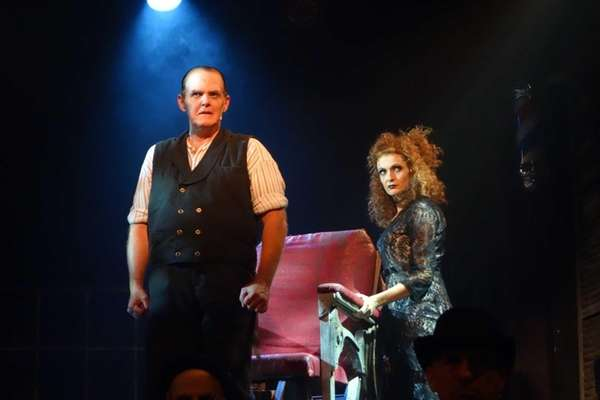 Steve McCoy and Suzanne Mason in Theatre Three